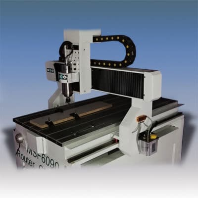 Гравировально-фрезерный станок с ЧПУ MSF6090 - компактный и универсальный.