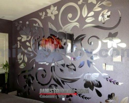 Декоративные зеркала и лазерные станки