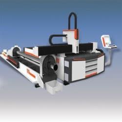 Волоконный лазерный станок MSFL1530T с труборезом